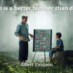 Albert Einstein quote Love is a better teacher than duty.