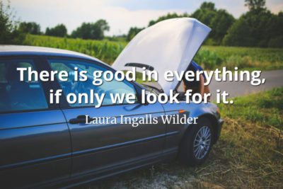 Laura Ingalls Wilder quote There is good in everything, if only we look for it